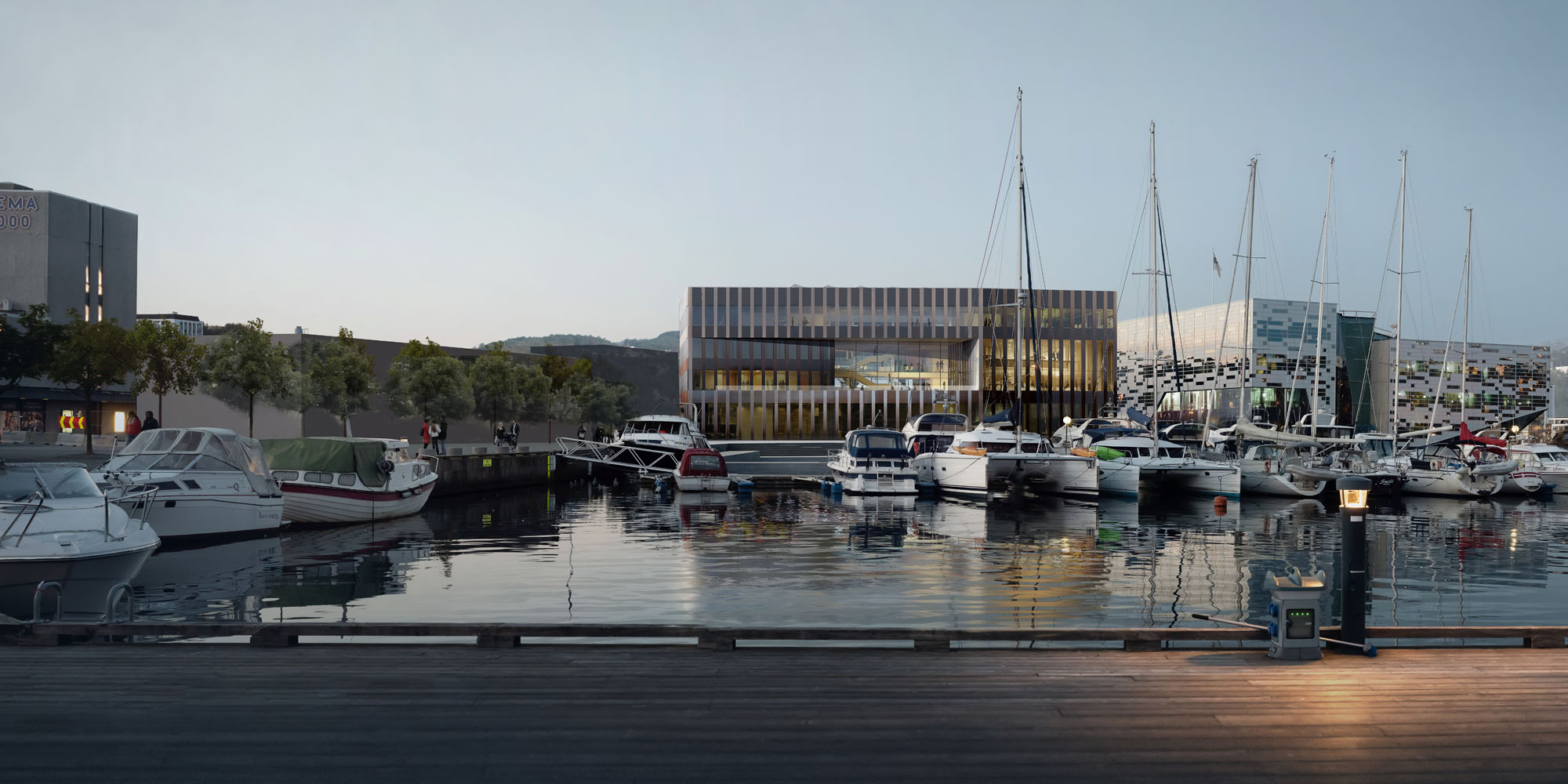 New Town Hall in Sandnes